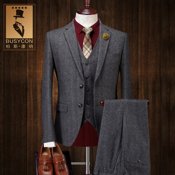 Wool Suit with Jackets