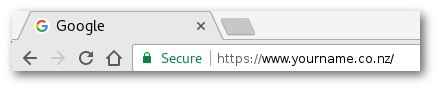 Google HTTPS Secured